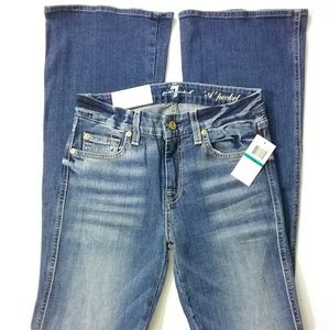 7 For All Mankind//'A' Pocket Flare Jeans